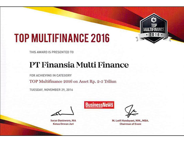 2016 - Top Multi Finance